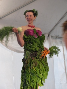 Veggie Dress by Liz Pieroni