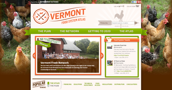 Vermont Food Systems Atlas