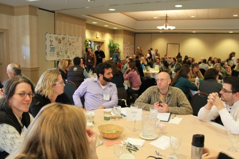 : Farm to Plate Network members reflect on conversations at the Gathering Credit: VT Farm to Plate