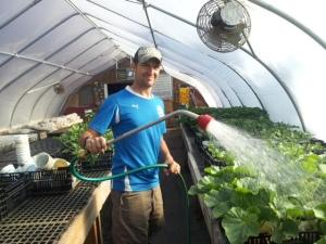 Jake Torrey of Honey Locust Farm in Bradford, VT, is a 2013 Journey Farmer.