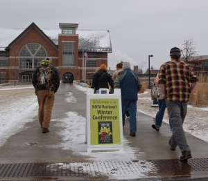 UVM's Davis Center serves as the conference hub. (Credit Elizabeth Ferry)