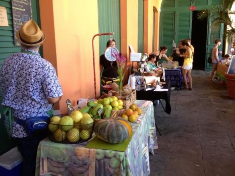 Farmers' Market in Old San Juan, Puerto Rico
