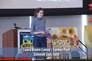 Laura Brown-Lavoie, Farmer/Poet
