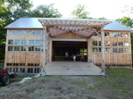 Earth Sky Time Farm built this beautiful barn for functions and agriculture use.