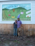 Bonnie and Oliver Levis are the homesteaders at Earth Sky Time.