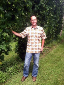 Kris Anderson of Addison Hop Farm