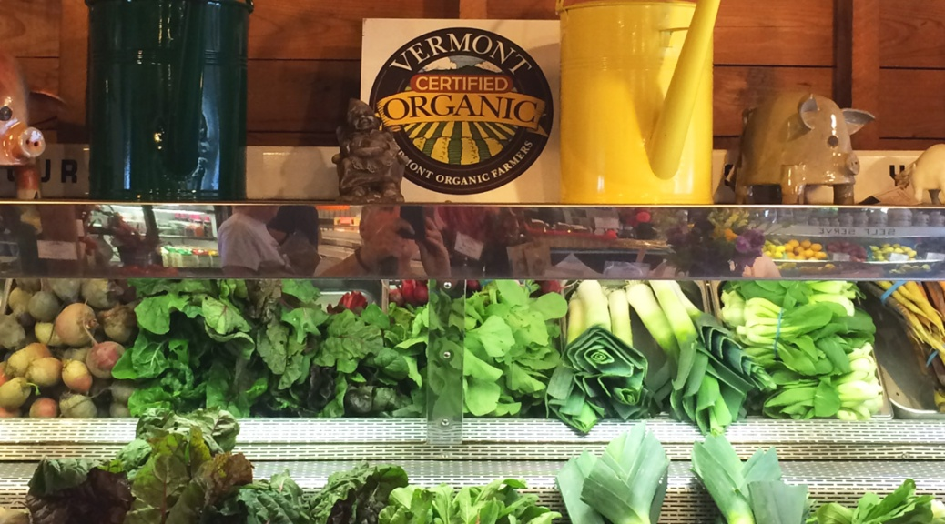 Vermont Certified Organic farmstand